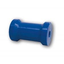 Blue poly boat trailer roller